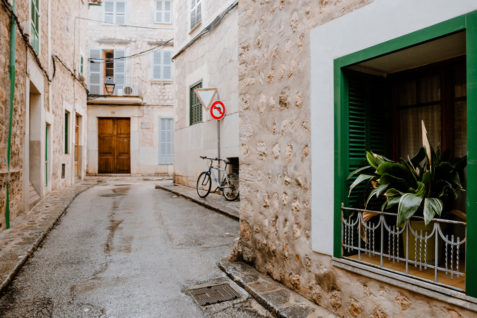 Mallorka, Soller- old town