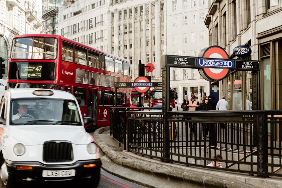London, city center