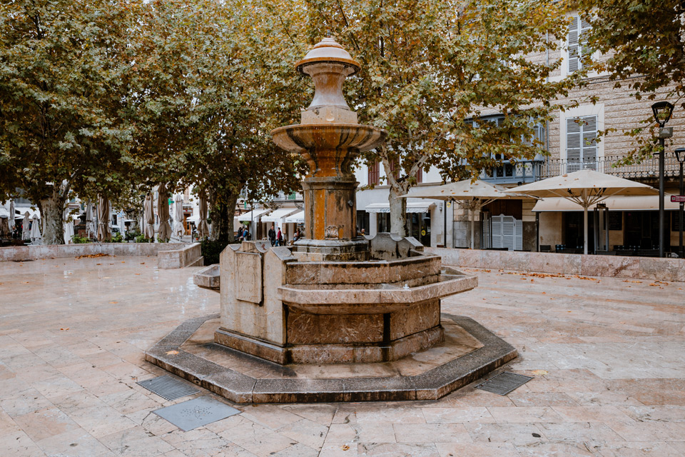 Mallorca, Soller- fountain