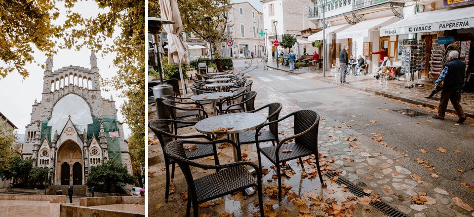 Mallorca, Soller- main square