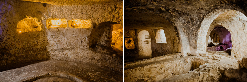 Malta, Rabat, catacombs