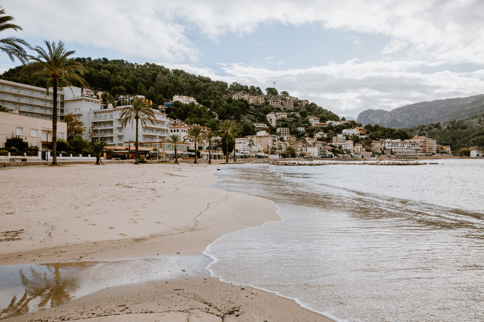 Mallorca, Port de Soller- beach