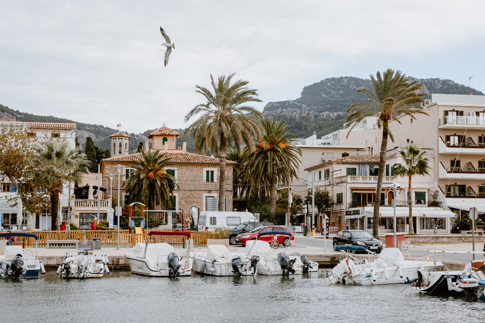 Mallorca, Port de Soller- harbor