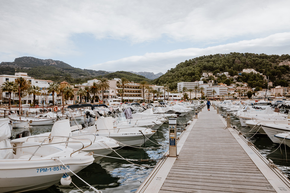 Mallorca, Port de Soller- bay
