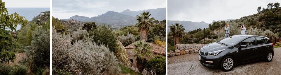 Mallorca, road to Deia