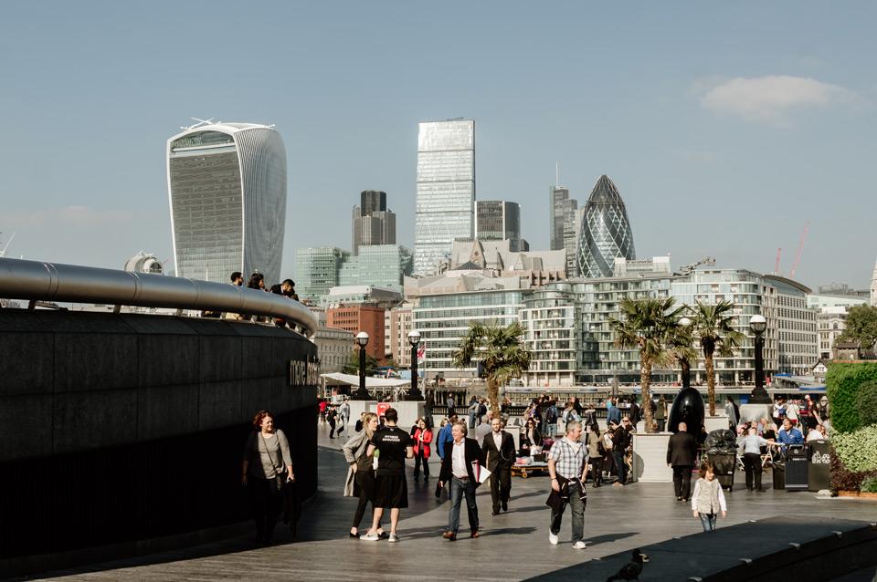 London, Tower Bridge surroundings