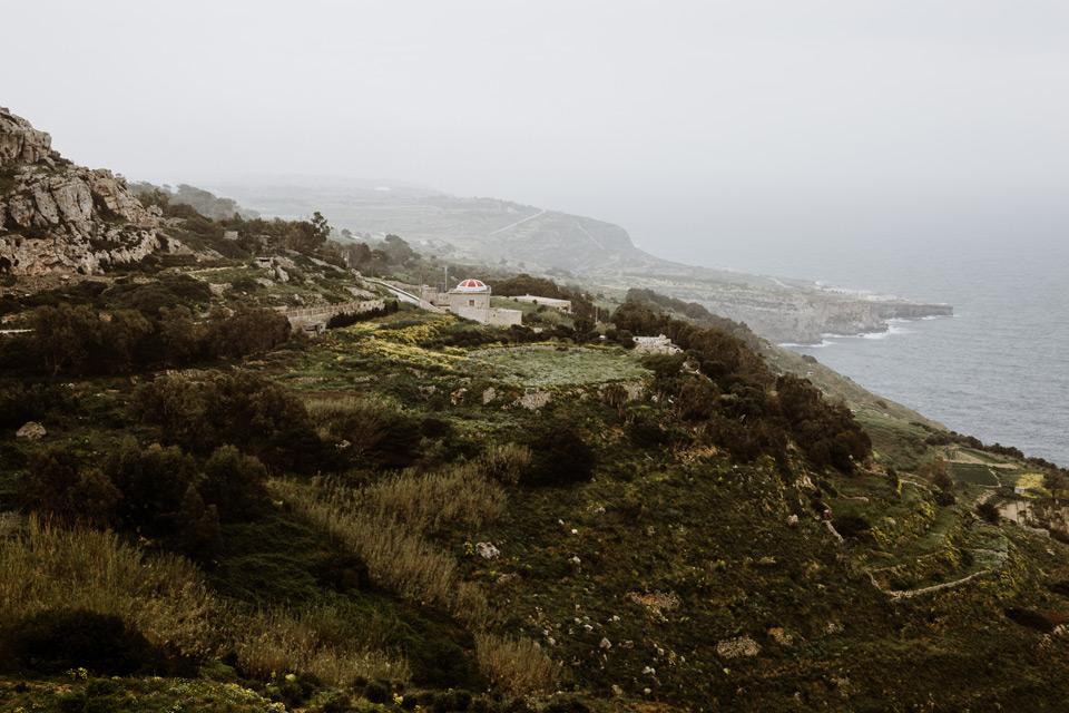 Malta, Dingli Cliffs, view point