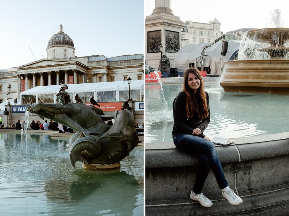London, Traffalgar Square