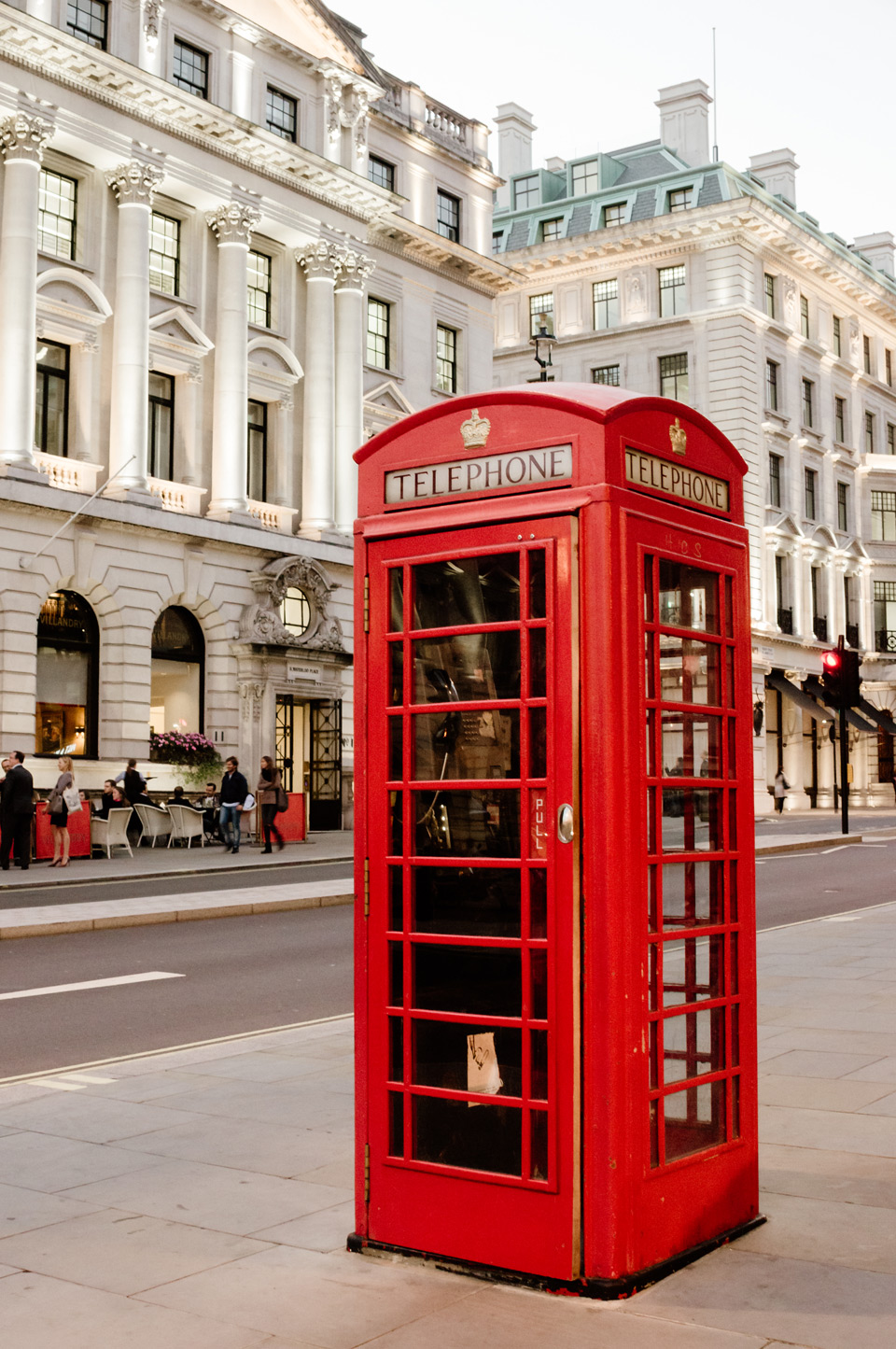 London, red phone booth