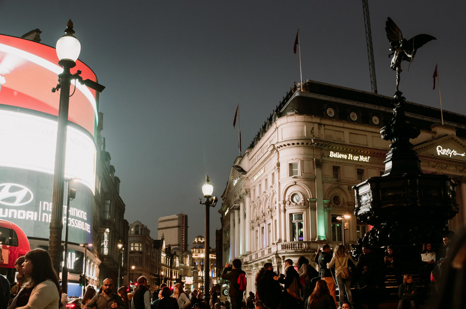 London, Picadilly Circus