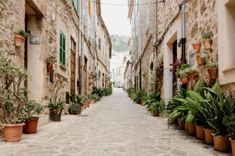 Mallorca, Valdemossa- climatic streets