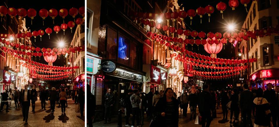 London, Chinatown district