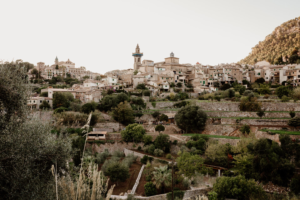 Mallorca, Valdemossa- city panorama