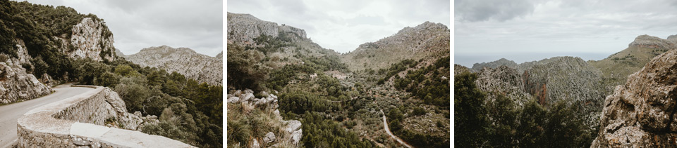 Mallorca, road to Sa Calobra