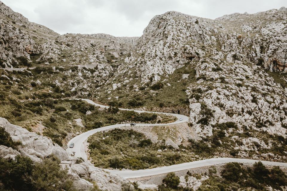 Majorka, droga do Sa Calobra