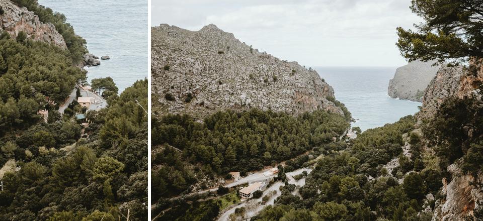 Mallorca, view of Sa Calobra