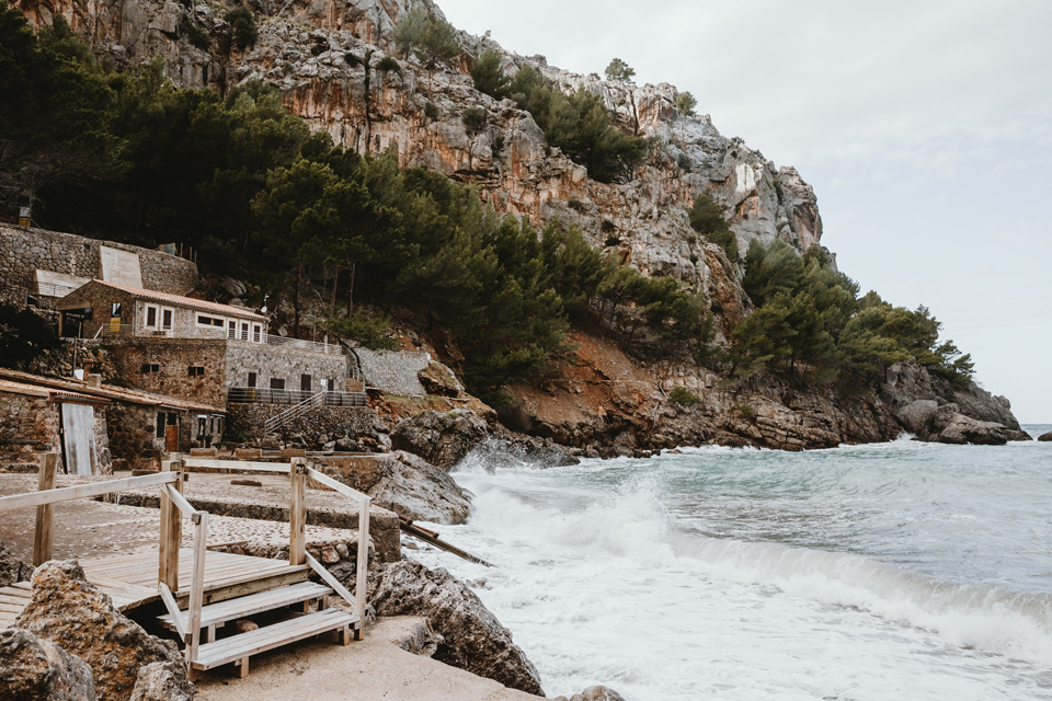 Mallorca, Sa Calobra bay
