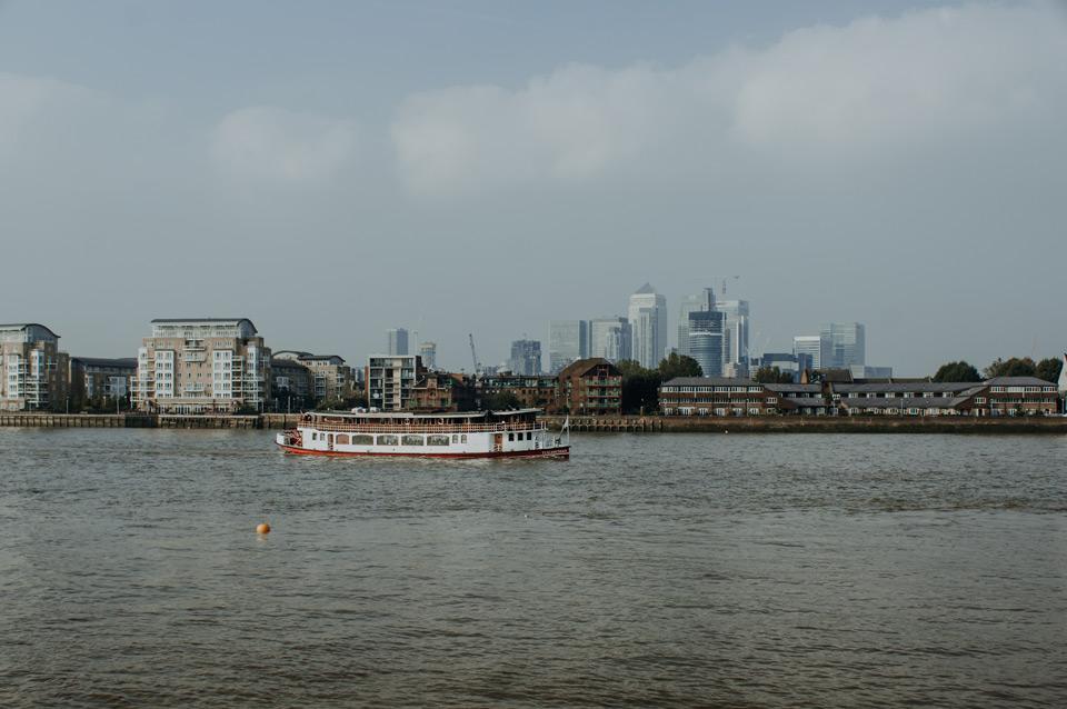 Londyn, Canary Wharf