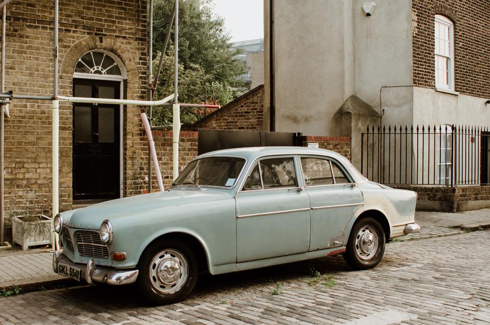 London, car