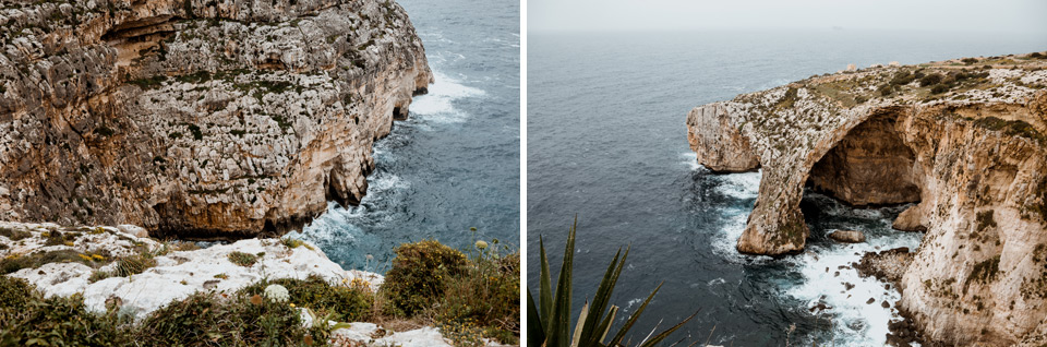 Malta, Blue Grotto- view point