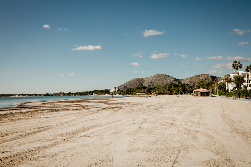 Mallorca, Port de Alcudia, beach