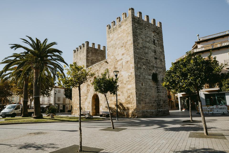 Mallorca, Alcudia, Porta de Xara