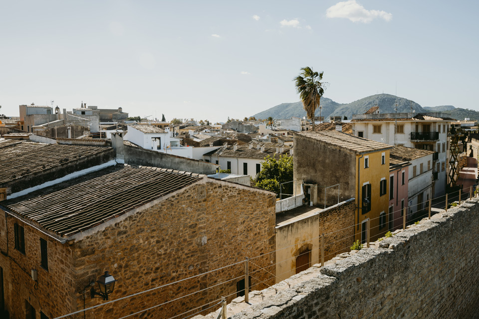 Mallorca, Alcudia, defensive walls