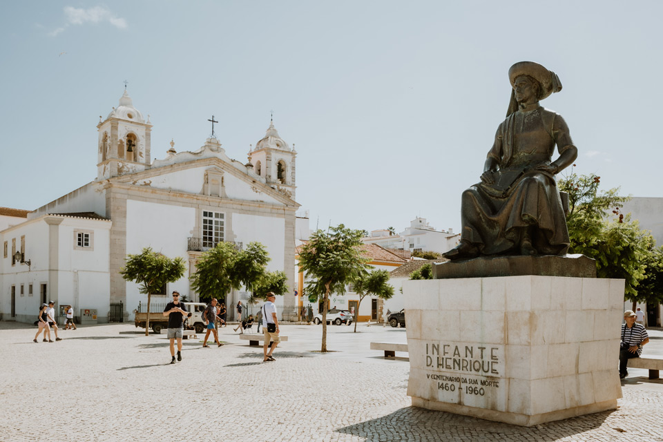 Lagos, Statue of Infante Dom Henrique