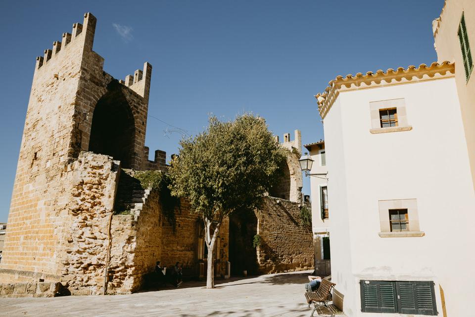 Mallorca, Alcudia, streets