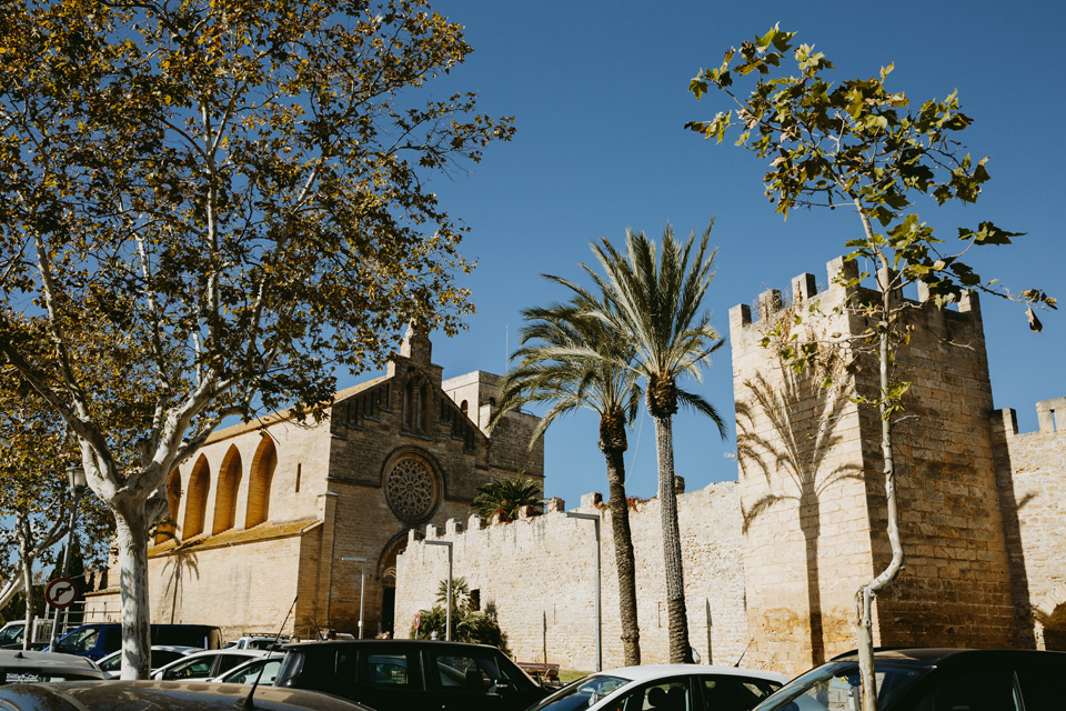 Mallorca, Alcudia, church surroundings