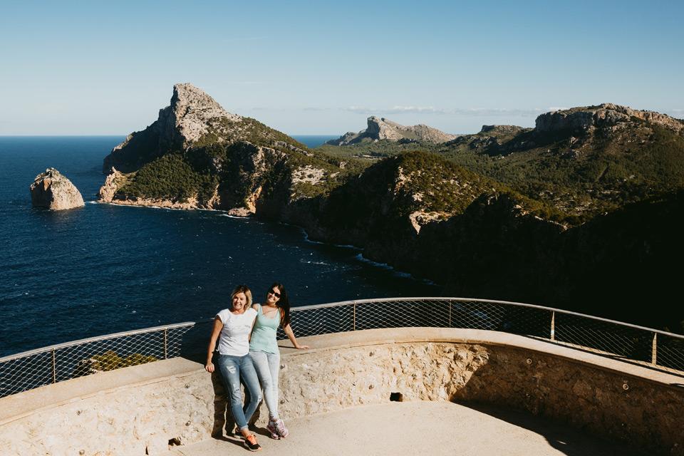 Mallorca, Cap de Formentor, Mirador Es Colomer