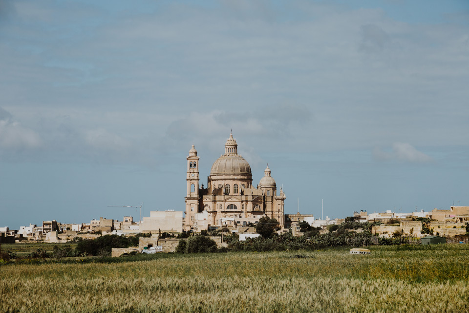 Gozo, St. rotunda John the Baptist in Xewkija