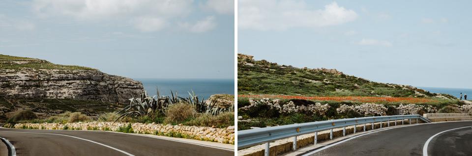 Gozo, road to Azure Window