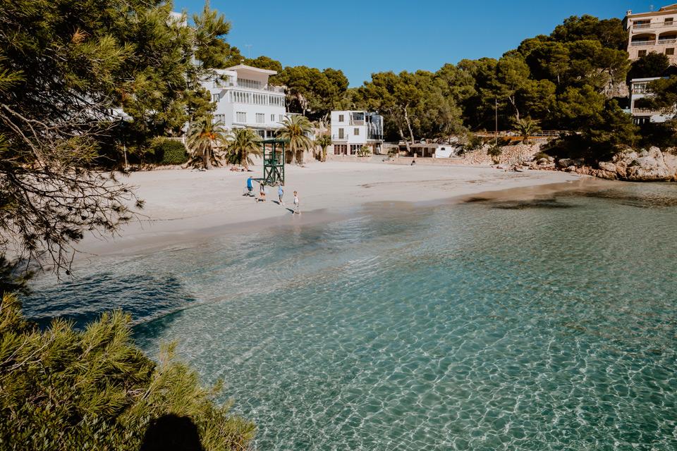 Majorka, zatoka Cala Santanyi