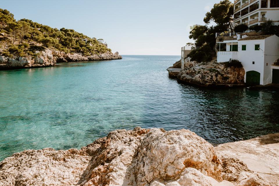 Mallorca, Cala Santanyi bay