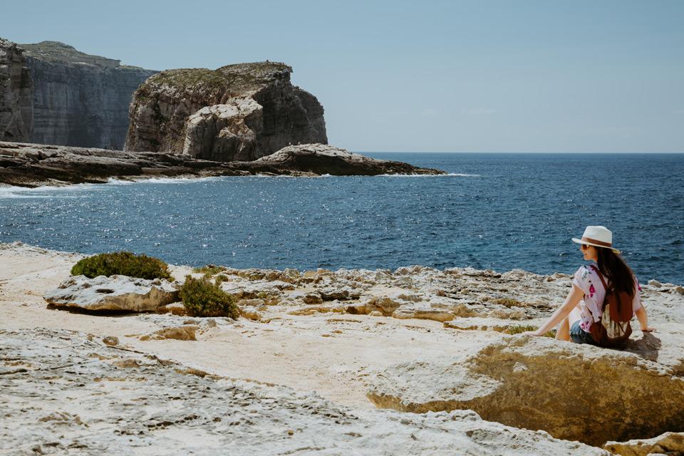 Gozo, Dwejra Bay