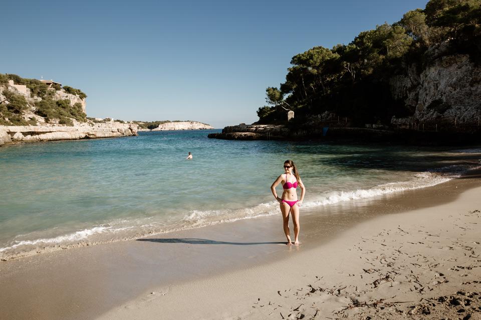 Mallorca, Cala Llombards, beach