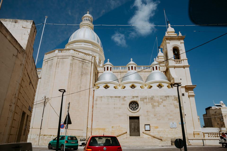 Gozo, church in Gharb