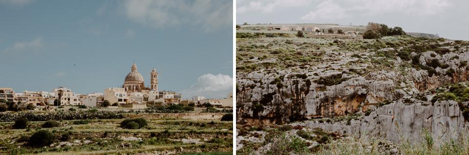 Gozo, road to Mġarr ix-Xini