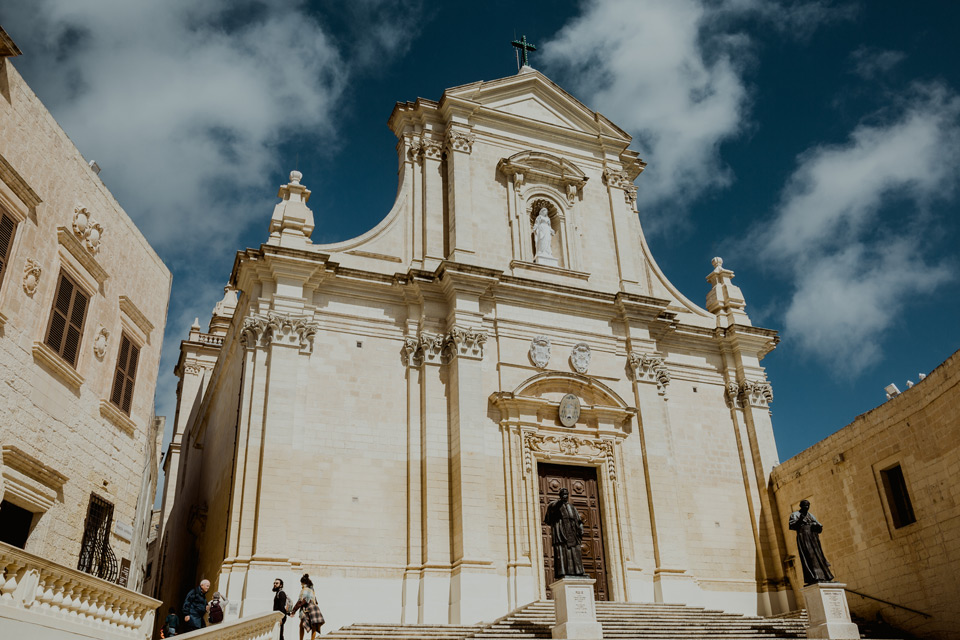 Gozo, Cathedral of the Assumption of the Virgin Mary in Victoria