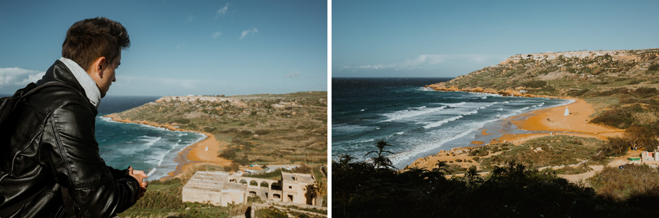 Gozo, views from Calypso Cave