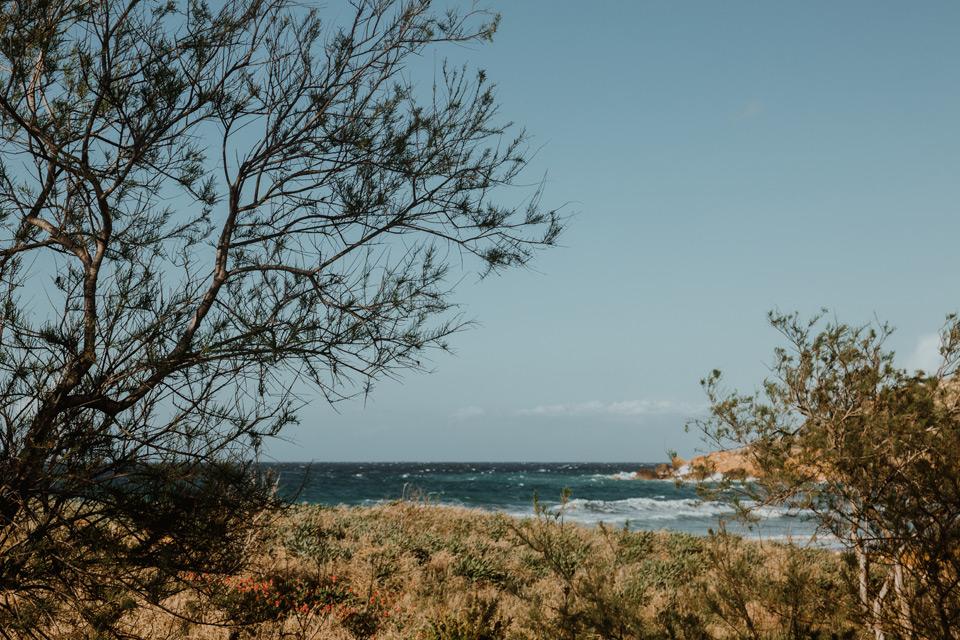 Gozo, views on Ramla Bay