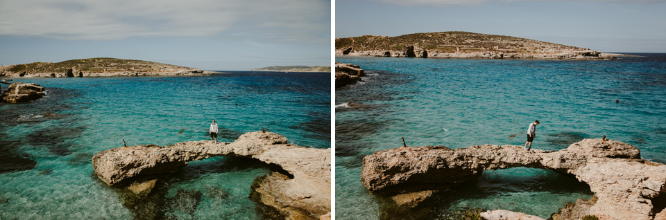 Comino, a stroll around the island
