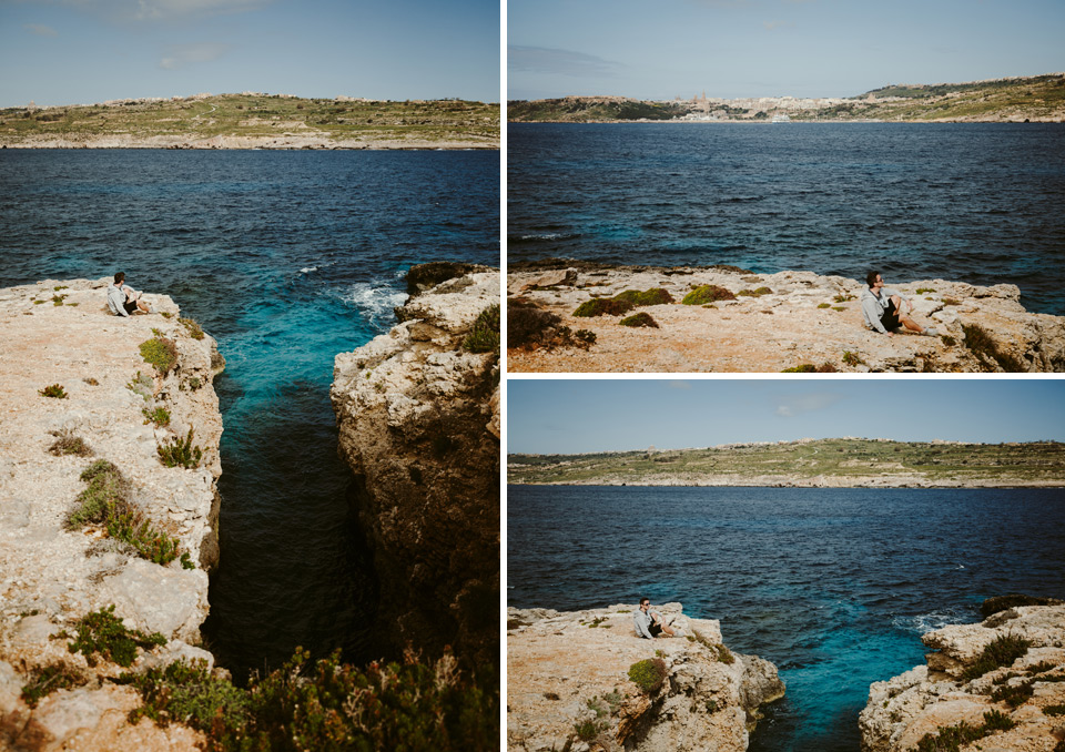 Comino, a walk around the island