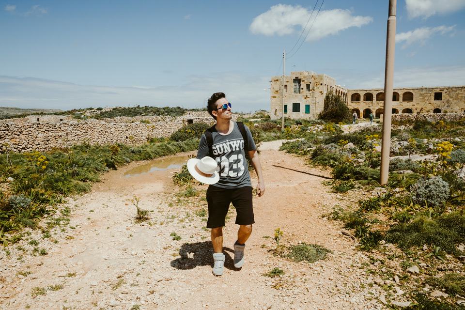 Comino, Abandoned Isolation Hospital