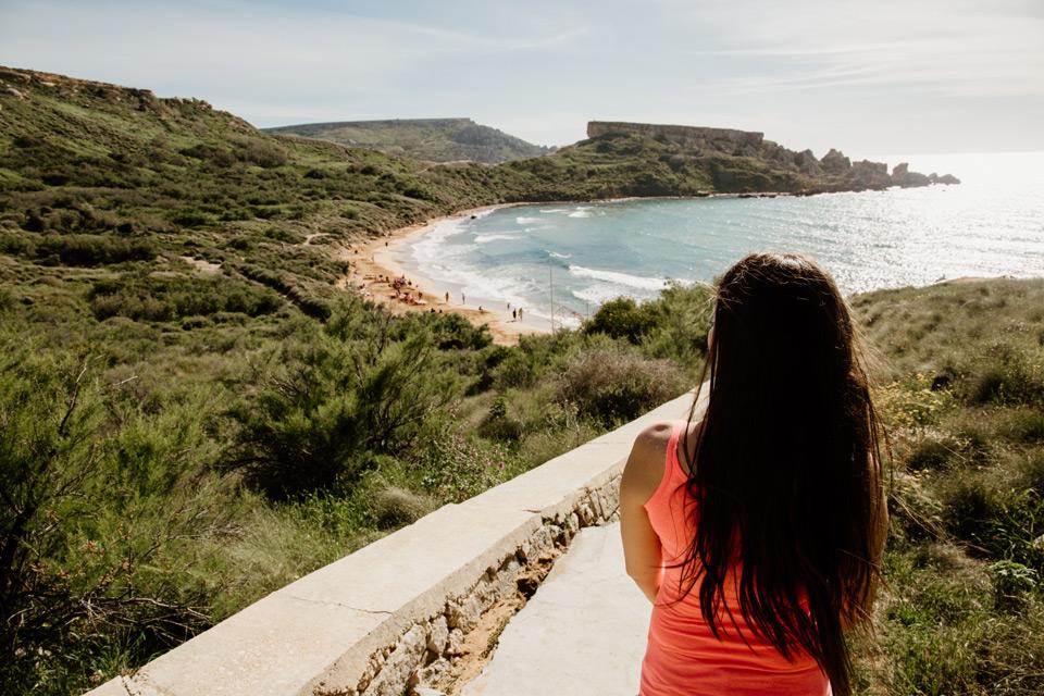 Malta, Ghajn Tuffieha Bay