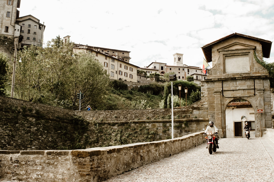 Bergamo- the gate of Saint Lawrence
