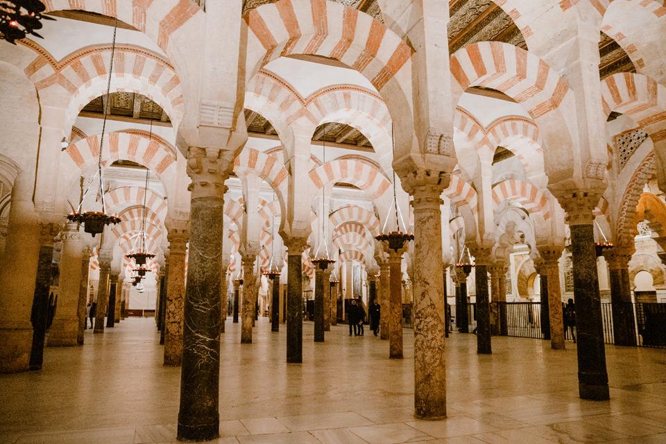 Cordoba- Mezquita interior