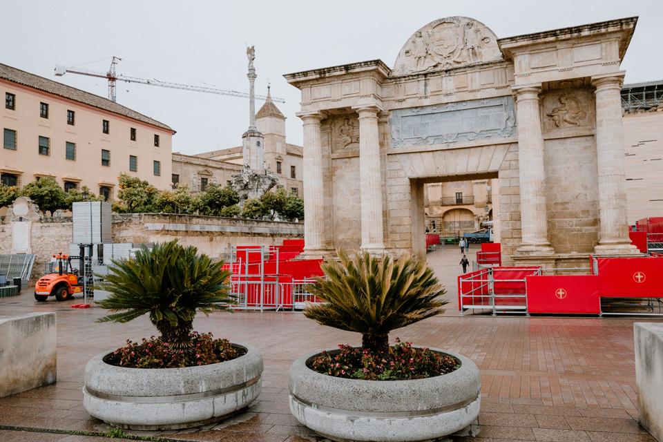 Cordoba- the gate of Arco del Triunfo