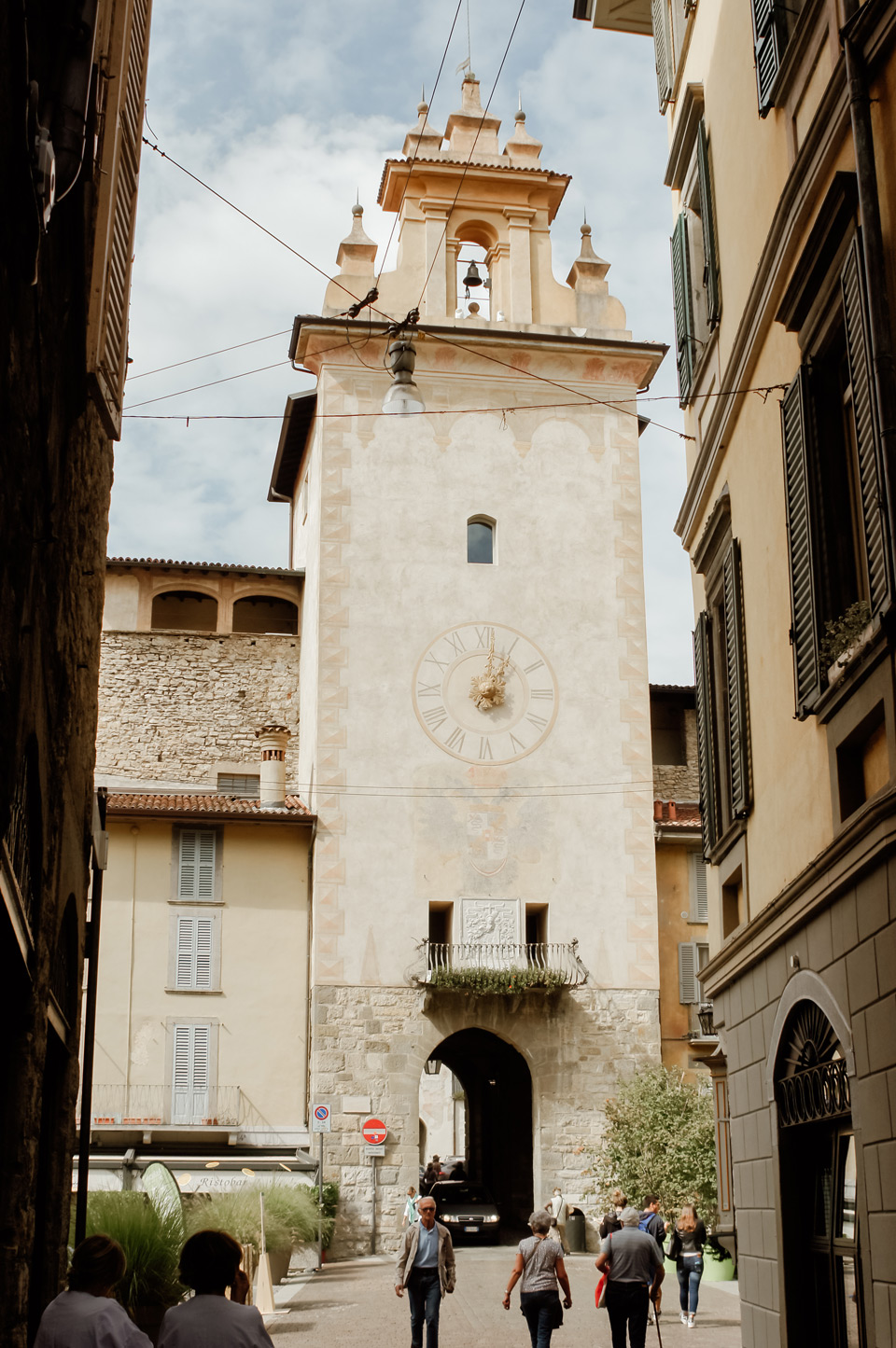 Bergamo, a walk around Citta Alta